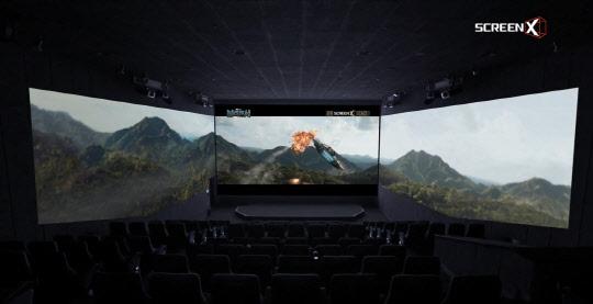 """""""한국 SW기술 그뤠잇!""""… 할리우드 영화계 혁신 이끈 '스크린X'"""